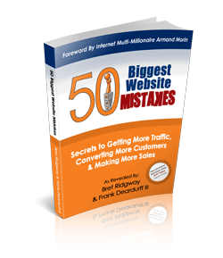 Buy 50 Biggest Website Mistakes